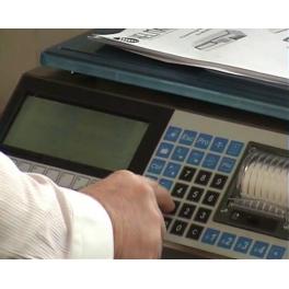 Assistance à installation et à programmation de la balance Helmac