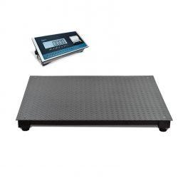 Plateforme de pesage homologuée avec imprimante Baxtran TF-GI