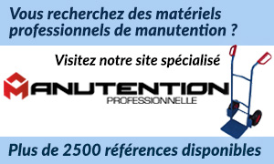 Matériels professionnels de manutention — Manutention Professionnelle