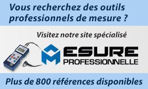 Outils professionnels de mesure — Mesure Professionnelle